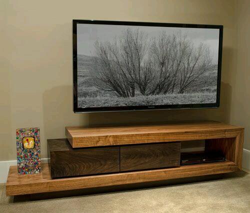 Wall tv cabinet design